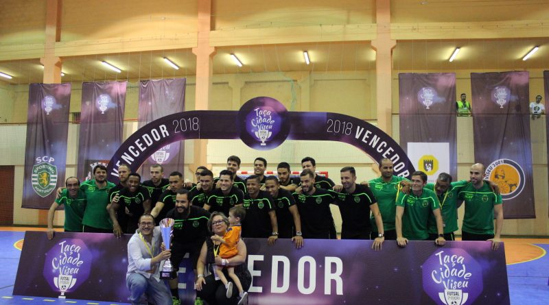 Festa em tons de verde e branco na Taça Cidade de Viseu fcc18b745ac04